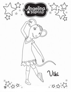 coloring page Angelina Ballerina (17)
