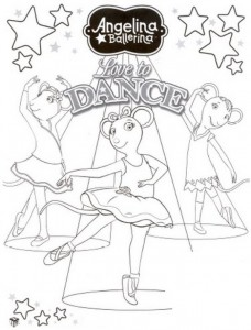 coloring page Angelina Ballerina (24)
