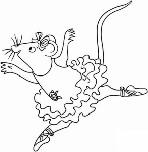 coloring page Angelina Ballerina (25)