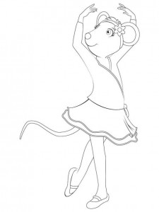 coloring page Angelina Ballerina (28)