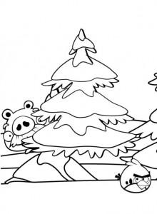 målarbok Angry Birds (30)
