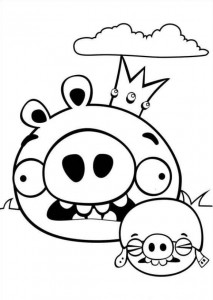 målarbok Angry Birds (9)
