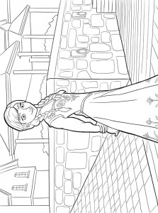 coloring page anna 3