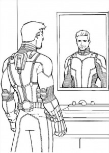 coloring page Ant man (15)