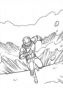 kleurplaat Ant man (16)