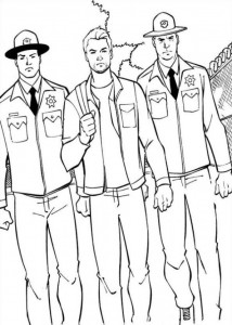 coloring page Ant man (17)