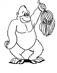 coloring page Monkeys (15)