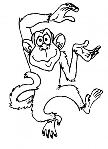coloring page Monkeys (17)