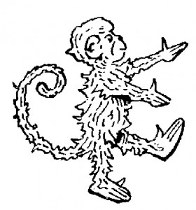 coloring page Monkeys (22)