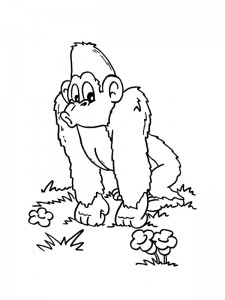 coloring page Monkeys (26)