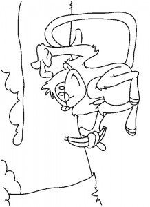 coloring page Monkeys (32)