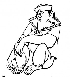 coloring page Monkeys (33)