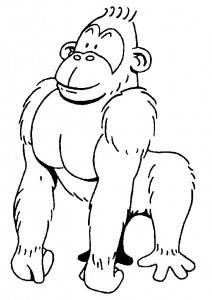 coloring page Monkeys (7)