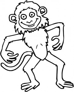 coloring page Monkeys (9)