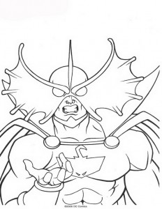 coloring page Aquaman (15)