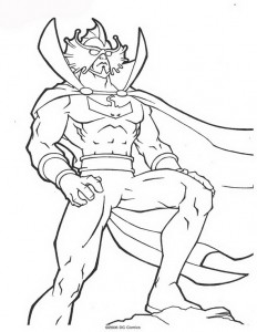 coloring page Aquaman (18)