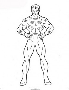 coloring page Aquaman (19)