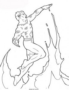 målarbok Aquaman (20)