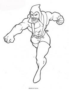 kleurplaat Aquaman (28)
