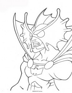 coloring page Aquaman (29)