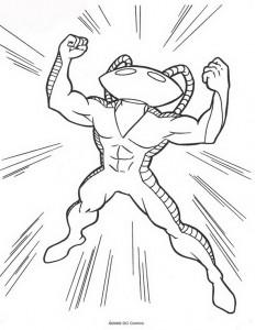 kleurplaat Aquaman (40)