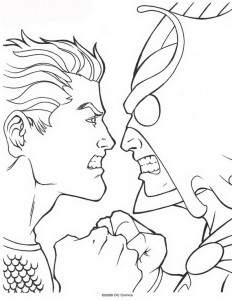 coloring page Aquaman (56)