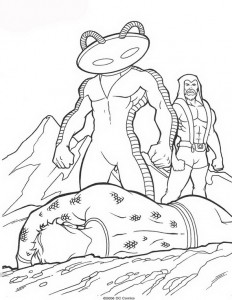 coloring page Aquaman (59)