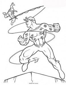 målarbok Aquaman (6)