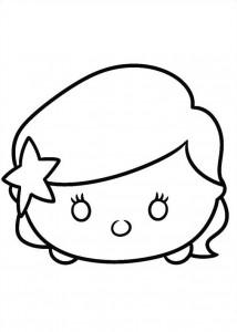 Dibujo para colorear ariel (7)