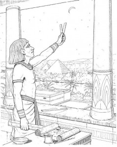 coloring page Astronomy