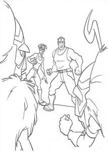 coloring page Atlantis (10)