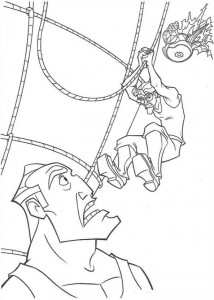 coloring page Atlantis (14)