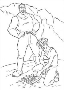 coloring page Atlantis (16)
