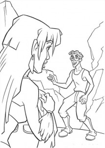 coloring page Atlantis (17)