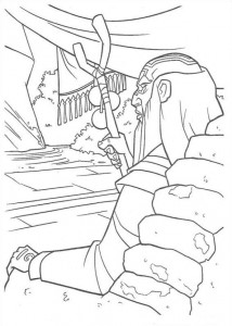 coloring page Atlantis (21)
