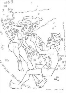 coloring page Atlantis (25)