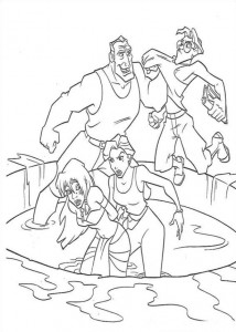 coloring page Atlantis (28)