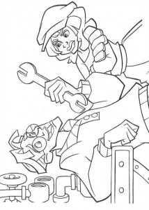 coloring page Atlantis (32)