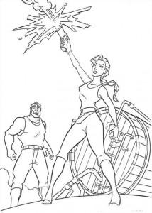 coloring page Atlantis (37)