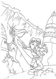 coloring page Atlantis (42)