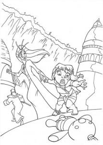 Malvorlage Atlantis (46)