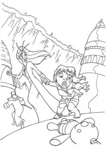 coloring page Atlantis (46)