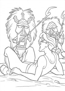 coloring page Atlantis (58)