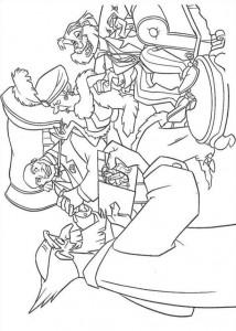 coloring page Atlantis (62)