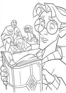 coloring page Atlantis (63)