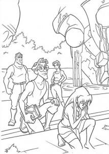 coloring page Atlantis (65)