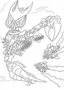 coloring page Atlantis (66)