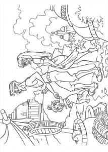 coloring page Atlantis (70)