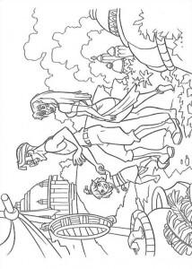 coloring page Atlantis (71)