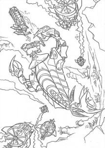 Malvorlage Atlantis (73)